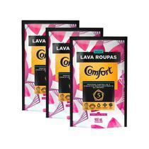 Kit 4 Refis Lava-Roupas Líquido Comfort Fiber Protect 900ml -