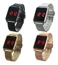 Kit 4 Relógios Femininos Digitais em LED - Orizom