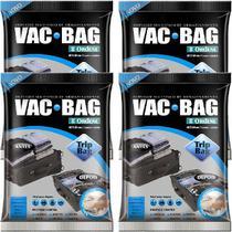 Kit 4 Sacos À Vácuo VAC BAG TRIP BAG 60X40 Ordene -