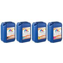 Kit 4 Tinta Compatível para Cartucho HP 662 122 60 901 Impressora 3050 2050 2546 de 20L - Toner Vale