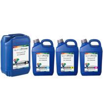 Kit 4 Tinta Compatível para HP 21 C9351A e 22 C9352A e 22 C9352A para Impressora F4180 J3680 F380 14 - Toner Vale