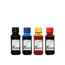 Kit 4 Tinta Compatível para Recarga HP 662 122 60 901 Impressora 3050 2050 2546 de 100ml QuimiPrime - Toner Vale