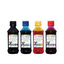 Kit 4 Tinta Compatível para Recarga HP 662 122 60 901 Impressora 3050 2050 2546 de 250ml QuimiPrime - Toner Vale