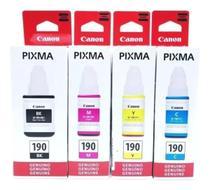 Kit 4 Tintas G-190 Para Pixma G190 G1100 G2100 G3100 G3102 - CANON