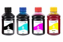 Kit 4 Tintas para Cartucho Epson XP 231  XP-231  XP 431 XP 241 CMYK 250ml - Inova ink