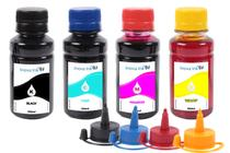 Kit 4 Tintas Para Epson Ecotank L396 100ml Inova Ink