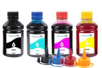 Kit 4 Tintas Para Epson Ecotank L396 250ml Inova Ink