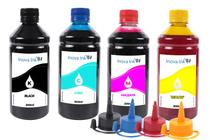 Kit 4 Tintas Para Epson Ecotank L396 500ml Inova Ink