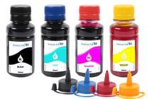 Kit 4 Tintas para Espson EcoTank L380 CMYK 100ml - Inova ink