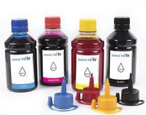 Kit 4 Tintas para Espson EcoTank L495 CMYK 250ml - Inova ink