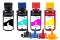 Kit 4 Tintas para Espson EcoTank L656 CMYK 100ml - Inova Ink