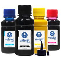 Kit 4 Tintas Sublimáticas para Epson L375  L-375 Bulk Ink CMYK 100ml - Valejet