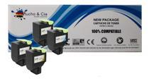 Kit 4 Toner Compat Lexmark 71b4hk0 Cx417/517 - Bl/ci/ye/ma - Cartucho & Cia