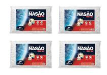 Kit 4 Travesseiro Nasa Alto 14 Cm - Fibrasca - 4404