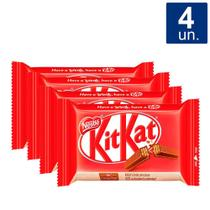 Kit 4 UN Chocolate Nestlé Kit Kat 41,5g -