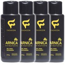 Kit 4 Und Gel para Massagem Arnica Extra Forte 200g - Fashion