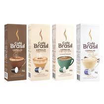 Kit 40 Capsulas Bebida ao Leite Para Cafeteira Nespresso - Cafe Brasil