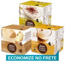 Kit 48 Cápsulas Nescafé Dolce Gusto Cappuccinos e Latte - Nestlé -