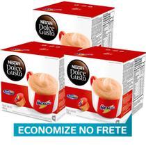 Kit 48 Cápsulas Nescafé Dolce Gusto Nescau- Nestlé -