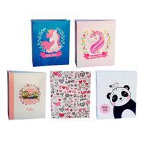 Kit 5 Álbum Infantil Rebites 300 Fotos 10x15 Ical -