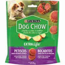 Kit 5 Bocaditos Maça Petisco Para Cães Adultos Todos Tamanhos Dog Chow Purina 5 Und de 75 g - Purina - Dog Chow