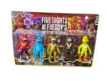 Kit 5 Bonecos Five Night -
