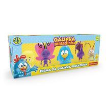 Kit 5 Bonecos Turma Da Galinha Pintadinha - Dtc