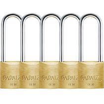Kit 5 Cadeados Haste Longa CR30/70 Papaiz -