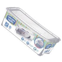 Kit 5 Caixa de Sapato Slim Transparente 1818 Organizador Sapateira Média 36x16x11,5 Cm Arthi -