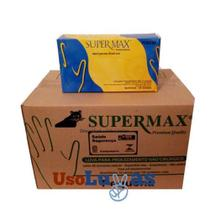 Kit 5 Caixas de Luva M Super Max Caixa com 100 unidades cada -