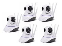 Kit 5 Camera Ip Hd Wireless Segurança Sistema Yyp2p Yoosee - Hamy