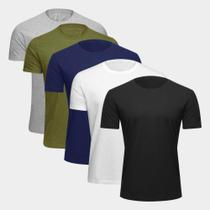 Kit 5 Camisetas Volare Masculina -