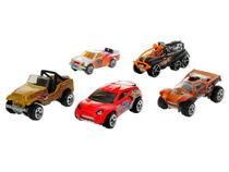 Kit 5 Carrinhos Hot Wheels - 1806 Mattel