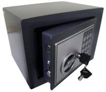 kit 5 Cofre Eletronico 2 Chaves Segredo Teclado Segurança (BSL2054) - Ab Midia