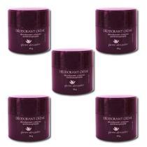 Kit 5 Desodorante Em Creme Pierre Alexander Antitranspirante 50g -