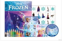 Kit 5 em 1 frozen disney - com dvd exclusivo - Bicho esperto