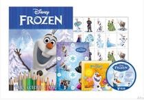 Kit 5 em 1 olaf frozen disney - com dvd exclusivo - Bicho esperto