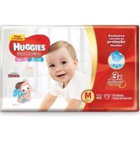 Kit 5 Fralda Descartável Infantil Mônica Supreme Care M 40 unidades - Huggies
