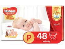 Kit 5 Fralda Descartável Infantil Mônica Supreme Care P 48 unidades - Huggies