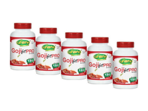 Kit 5 goji berry goji fit pró unilife 180 cápsulas
