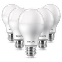 Kit 5 Lâmpadas Philips Led Bulbo A65 16W 3000K -