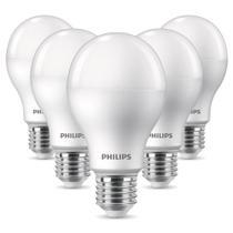 Kit 5 Lâmpadas Philips Led Bulbo A65 16W 6500K -