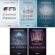 Kit 5 livros rainha vermelha victoria aveyard - Companhia Das Letras