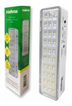 Kit 5 Luminárias Emergência Intelbras Emergência 30 Leds -