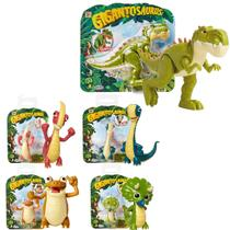 Kit 5 Mini Figura De Ação 8cm Dinossauro Gigantossauro Mimo - Mimo Toys