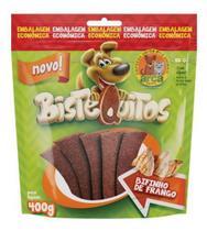 Kit 5 Pacotes Bistequitos Bifinho Sabor Frango 400gr - Petitos