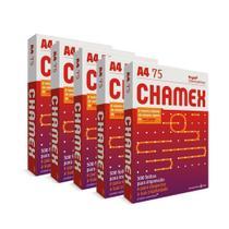 Kit 5 Pacotes De 500 Folhas De Papel Sulfite A4 Chamex -