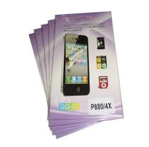 Kit 5 Películas Plástico  LG Optimus P880 4X - H' Maston