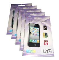 Kit 5 Películas Plástico Nokia Asha303 - H' maston