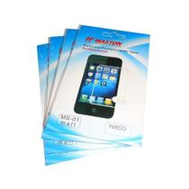 kit 5 Películas Plástico Nokia N800 - H' Maston